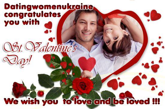 Surprise a Ukrainian woman on Valentine's Day