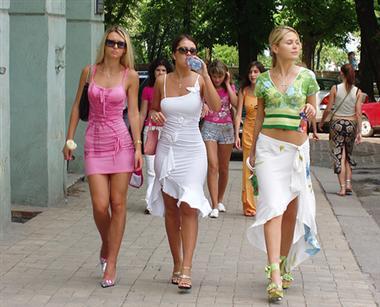 Meet Ukrainian women first in their own country